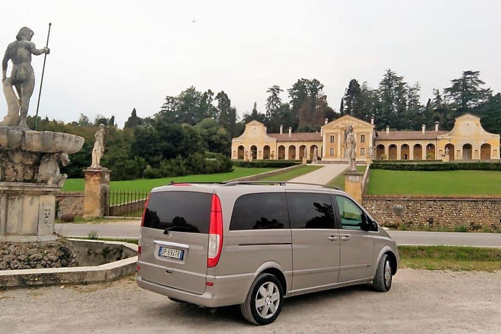 Villa Barbaro, tour Palladian villas Venice mainland with Pantarei Chauffeur Service based in Mira, Venice, Italy