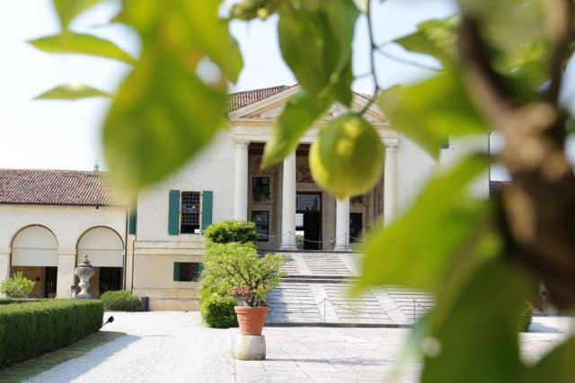 Villa Emo by Palladio in Venice outskirts. To visit during a private tour with professional driver
