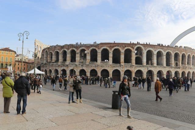 Roman amphitheatre Verona, private day excursion Veneto region, Italy