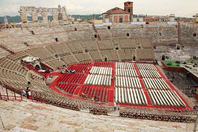 Verona arena opera season