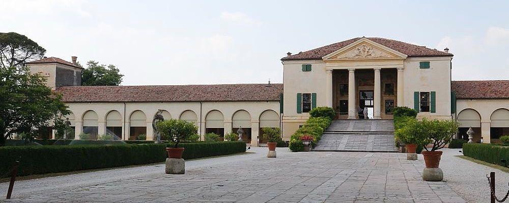 Villa Emo and barchessa by Palladio reported in the UNESCO World Heritage liste, Veneto region, Italy
