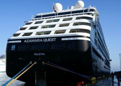 Azamara Quest, terminal de croisière de Venise