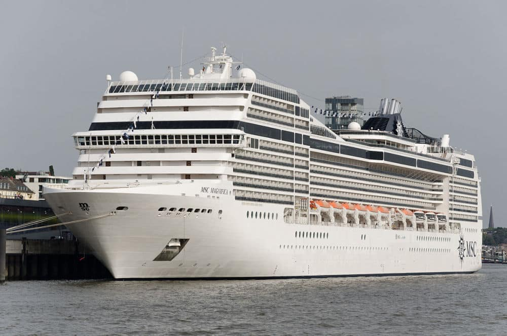 MSC Magnifica, Venice port