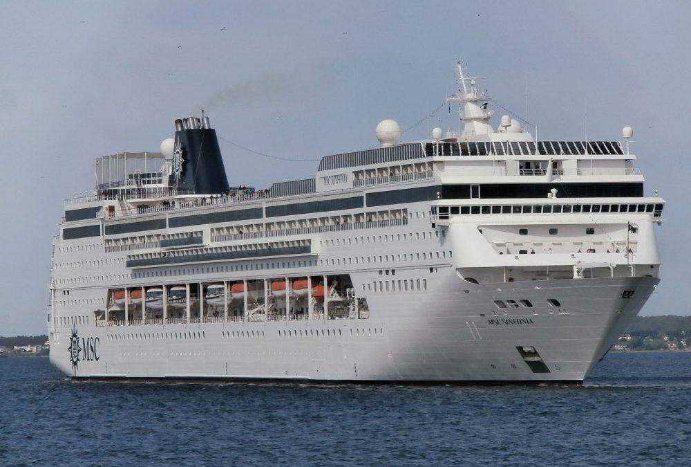 MSC Sinfonia cruise ship