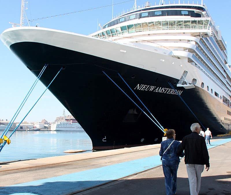 Nieuw Amsterdam, porto di Venezia