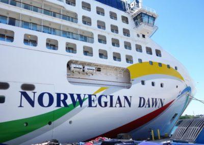 Norwegian Dawn, terminal de croisière de Venise