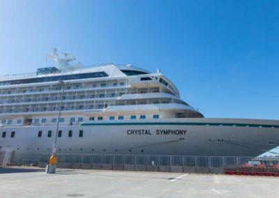 Crystal Symphony terminal croisères de Venise