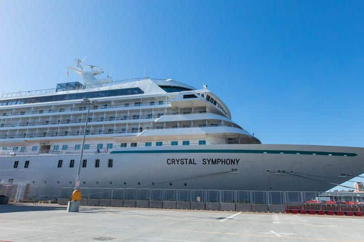 Crystal Symphony cruise ship