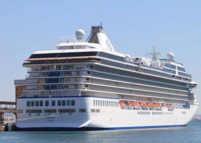 Oceania Marina, terminal de croisières Venise