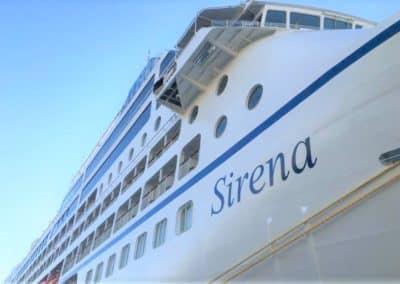 Oceania Sirena, terminal de croisière de Venise