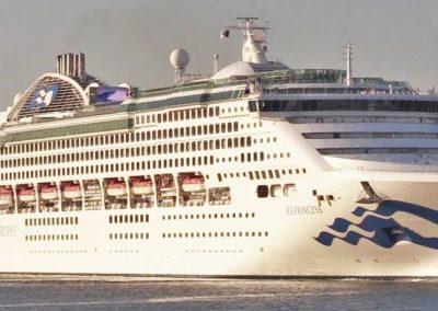 Sea Princess, terminal de croisière de Venise